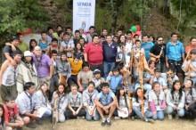 Campamento scout en Quilaco