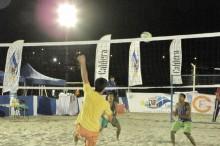 imágenes de la final varones disputada en playa La Mansa de Caldera en certamen organizado por la municipalidad