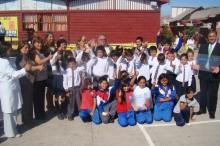 Representantes de escuelas certificadas y autoridades