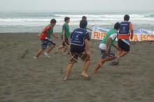 Fútbol playa en Pichilemu