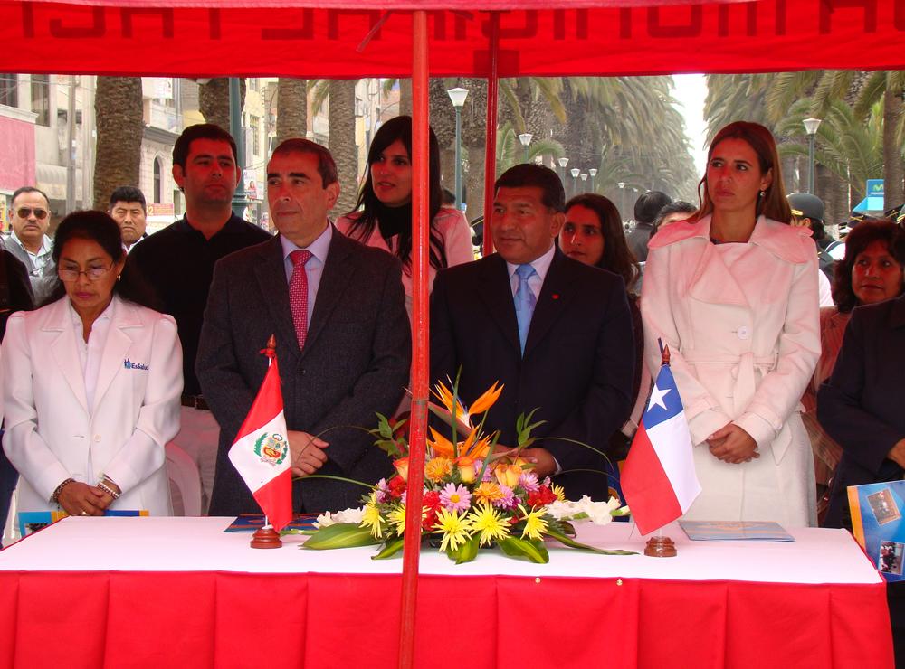Autoridades de Chile y Perú participaron en la actividad