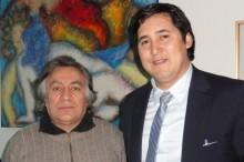 Coordinador de SENDA junto al director del Teatro del Maule