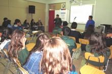 Debate estudiantil sobre drogas en Escuela Técnico Profesional de Copiapó