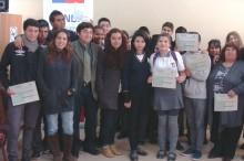 En un ambiente de respeto y participación estudiantil se llevó a cabo la importante actividad organizada por SENDA Previene de Tierra Amarilla