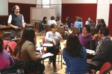 Psicólogo Jaime Munizaga a cargo de la capacitación sobre perspectiva de género y codependencia