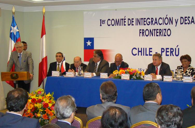 Autoridades de Arica y tacna