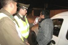 En Caldera continuó la aplicación del programa control cero alcohol que lleva adelante Carabineros junto al SENDA