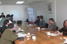 Representantes de diversos servicios en reunión de Mesa Regional de Drogas y Alcohol