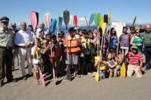 Competencia de kayak
