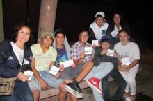 Profesionales del SENDA Previene de Caldera realizaron una difusión nocturna donde destacaron la participación de los jóvenes al momento de dialogar