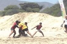 Por segundo año consecutivo el SENDA apoyó el interregional de rugby disputado en playa grande huasco en el marco de la campaña decide tu verano
