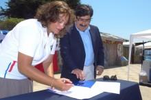 Convenio de SENDA en El Tabo