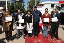Coordinador de SENDA junto a profesores capacitados