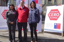 Ceremonia de aniversario de Ley Tolerancia Cero en Valparaíso