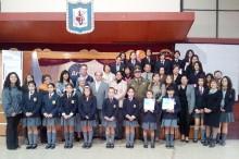 Lanzamiento regional del programa ACTITUD realizado en el liceo Sagrado Corazón de Copiapó