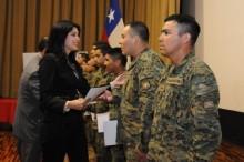 Monitores del Ejército en Arica