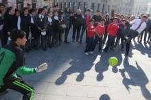 Fútbol calle en Valparaíso