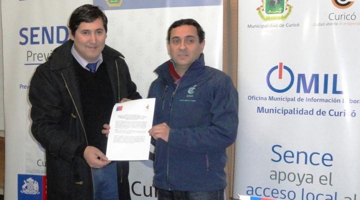 Acuerdo SENDA y Municipalidad de Curicó