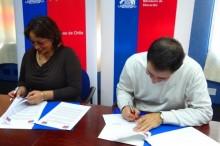 Convenio de colaboración SENDA y Junaeb