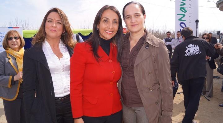 Directora de SENDA junto a ministra Cecilia Pérez
