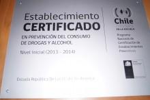 Certificación escuelas preventivas