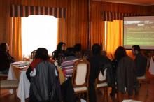 Charlas a escuelas de Aysén