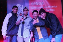 Ganadores 2º lugar festival SENDA 2013