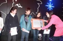 Ganadores 3º lugar festival SENDA 2013