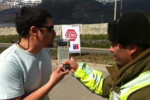 Control Cero Alcohol en Aysén