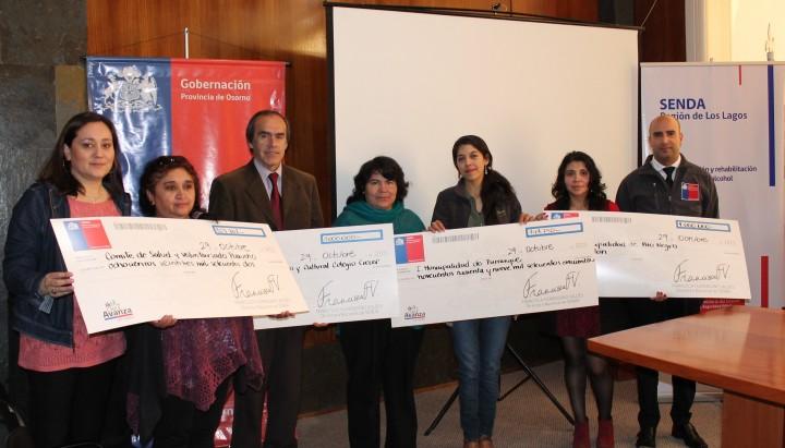 Ganadores en provincia de Osorno