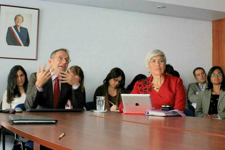 Expertos internacionales asistieron a talleres de Senda en Santiago