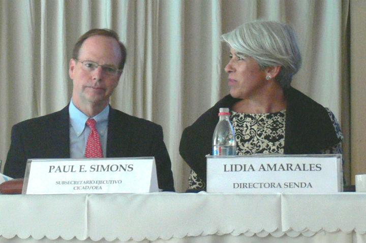 Refuerzan nexo OEA-Chile en prevención, tratamiento e integración
