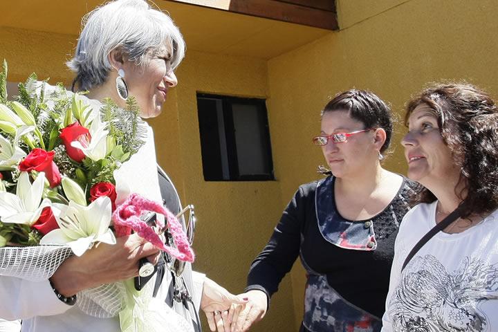 Directora de Senda visitó centro de red Dianova