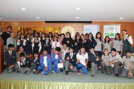 Escolares del norte dialogan sobre prevención de drogas