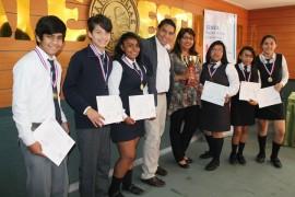 Colegio Don Bosco gana primer lugar del debate regional