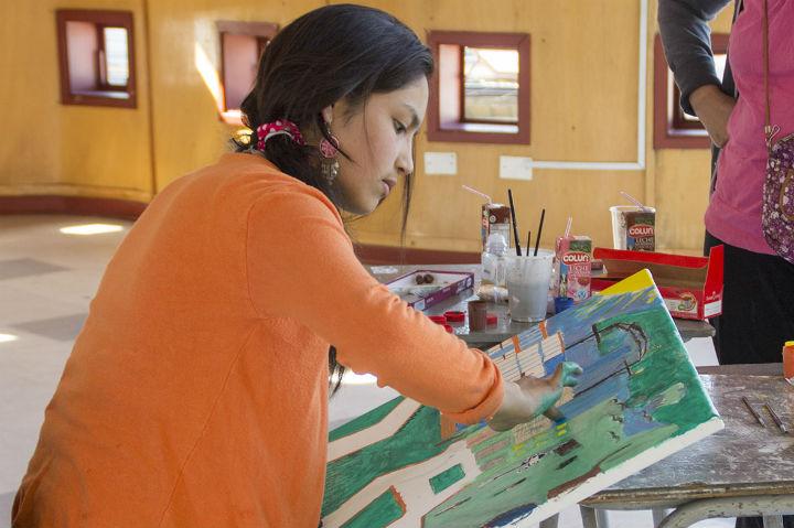 El arte y el desarrollo personal como recursos de prevención