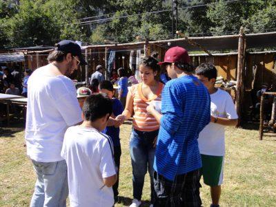 Las Cabras realiza primera cicletada familiar por la prevención
