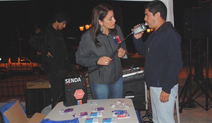 Alcotest educativo en Coquimbo