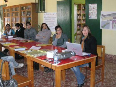 Coyhaique: impulsan taller de pintura para usuarios en rehabilitación