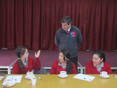 SENDA-Previene de Saavedra realiza ferias de sensibilización para escolares