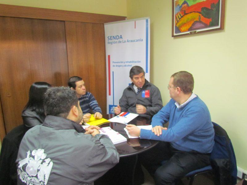 Capacitan a profesionales SENDA-Previene en elaboración de diagnósticos locales