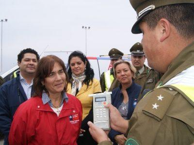 Con operativo nocturno parte programa Control Cero Alcohol en Valdivia