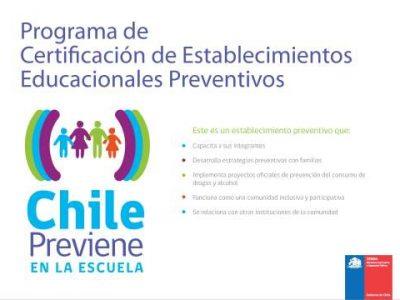 Capacitan a docentes y jefes de UTP del Bío-Bío en inserción curricular de la prevención