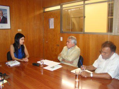 Estudiantes de La Unión ganadores de festival preventivo visitan Santiago