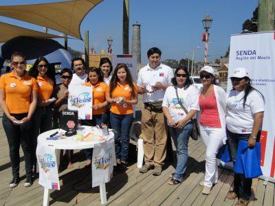 Con competencia de figuras de arena parte en Penco campaña de verano
