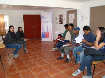 SENDA-Previene de Concón sensibiliza a familias durante el verano
