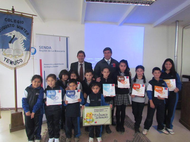 Empresa de Copiapó lanza su política preventiva con apoyo del SENDA Atacama