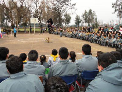 Chile Previene en la Escuela amplía cobertura en Panguipulli