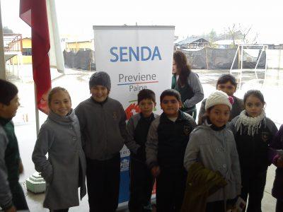 SENDA certifica el trabajo preventivo de escuela de La Calera