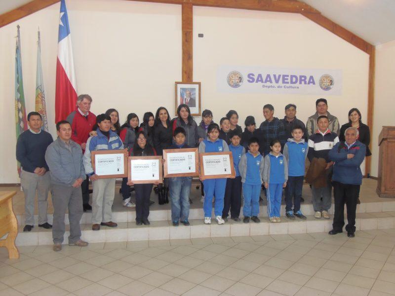 SENDA certifica a tres escuelas ariqueñas preventivas